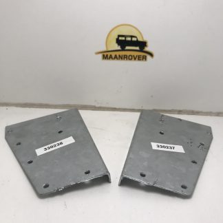Galvanised plate as part of capping on Land Rover Series